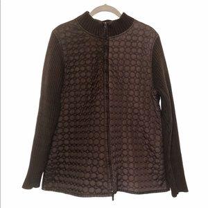 Peter Martin Woman Chocolate Brown Jacket 2X